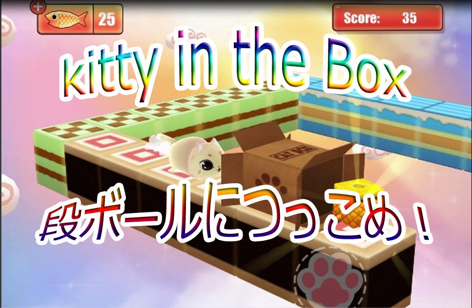 猫の日!段ボールに猫を突っ込め!kitty in the Box レビュー♪